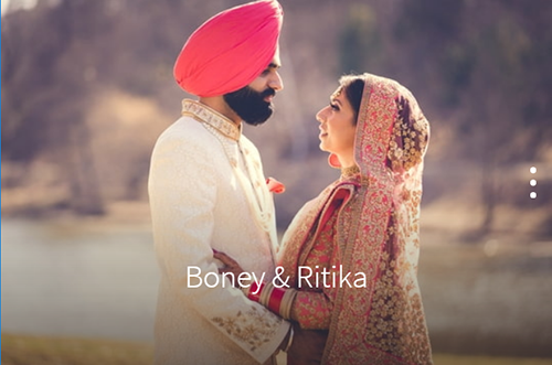 Boney and Ritika